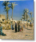 On The Outskirts Of Cairo Metal Print