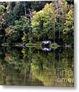 On The River Four Metal Print