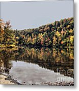 On The River Two Metal Print