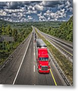 On The Road Again E61 Metal Print