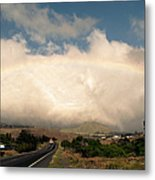 On The Road To Hilo Metal Print
