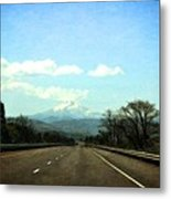 On The Road To Mount Hood Metal Print