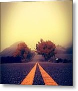 On The Road To Nowhere Metal Print