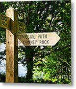 On The Road To Ruin Metal Print