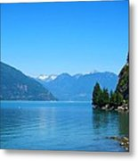 On The Road To Whistler Metal Print