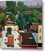 On The Roof Metal Print