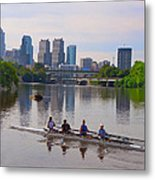 On The Schuylkill Metal Print