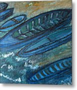 On The Shore Metal Print