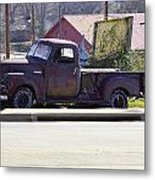 On The Side Of The Road Metal Print