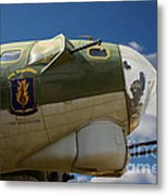 On The Tarmac B-17g Metal Print