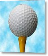 On The Tee Metal Print