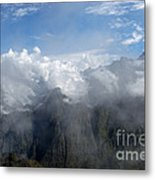 On The Top Of The World... Metal Print