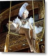 On The Trapeze Metal Print