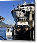 On The Waterfront Metal Print