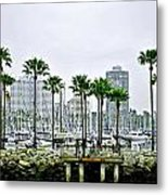 On The Way To Catalina Island Metal Print