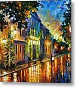 On The Way To Morning Metal Print by Leonid Afremov
