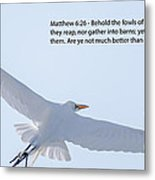 On The Wings Of Flight Metal Print