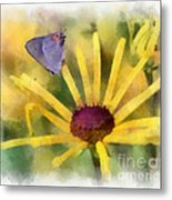 On The Yellow Metal Print