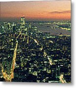 On Top Of The City Metal Print