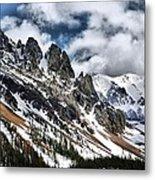 On Top Of The Rockies Metal Print by Rebecca Adams