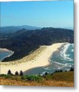 On Top Of The World Metal Print by Mamie Gunning