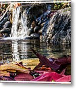 On Waters Edge Metal Print