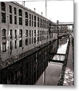 Once Industrial Georgetown Metal Print by Olivier Le Queinec