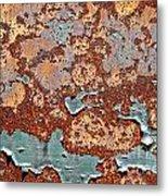 Once Painted Metal Print