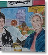 Joy And Frank Once Upon A Time In Tuscany Metal Print
