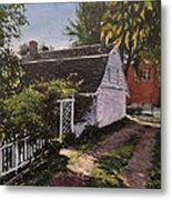 Onderdonk House  Garden Metal Print