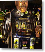 One Arm Bandit Slot Machine 20130308 Metal Print