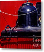 One Brass Bell Metal Print