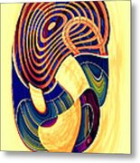 One Clean Print - Bright Metal Print by Wendy J St Christopher