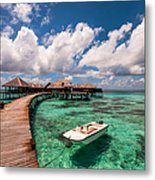 One Day At Heaven Metal Print