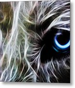 One Eye Metal Print