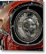 One-eyed Chevy Metal Print