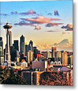 One Fine Skyline Metal Print