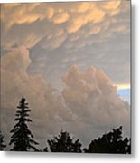 One Friday Sunset  Metal Print