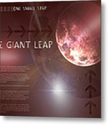 One Giant Leap Metal Print