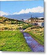One Golden Day In Edinburgh's Holyrood Park Metal Print