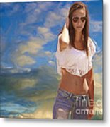One Hot Day Metal Print