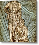 One More Shot - Rogers Group Statue Metal Print