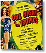 One Night In The Tropics, Us Poster Metal Print