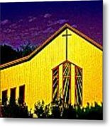 One Of Many Doors . . . Of The Lord Metal Print