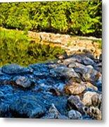 One River - Three Flows Metal Print