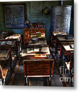 One Room School House Metal Print by Bob Christopher