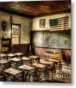One Room School Metal Print