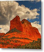 One Sedona Sunset Metal Print