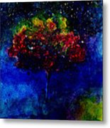 One Tree In The Universe Metal Print