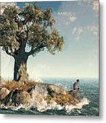 One Tree Island Metal Print